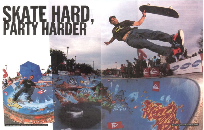 Skate Hard Party Harder