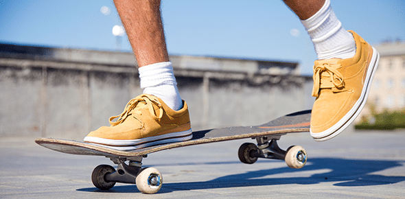 THE SOUND AND THE FURY skate